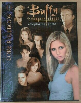 Buffy The Vampire Slayer Roleplaying Core Rulebook Game Hardcover  • 25£