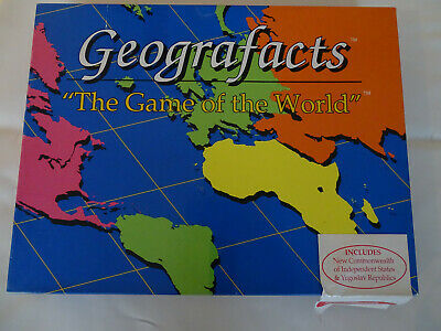 Geografacts Educational Board Game   • 9.99£