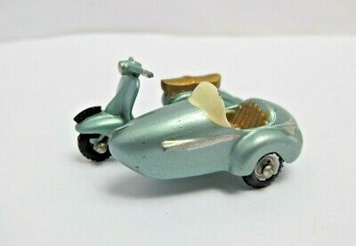 Lesney Matchbox Series No.36 Lambretta TV175 Scooter With Sidecar - (2593) • 27.99£