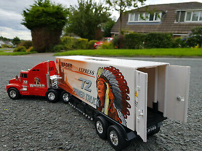 Giant American Red Indian Large Truck Lorry 60cmL Radio Remote Control Car • 27.99£