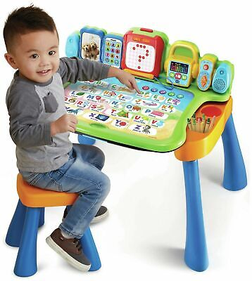 VTech Interactive LED 4 In 1 Touch & Learn Activity Desk • 50.99£
