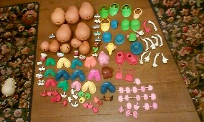 Large Massive Mr Potato Head Collection With 5 Bodies 5 Kids 1 Vintage 109 Piece • 29.99£