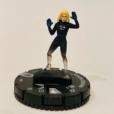 Marvel HeroClix Fantastic Four - Invisible Woman #034 • 3.99£
