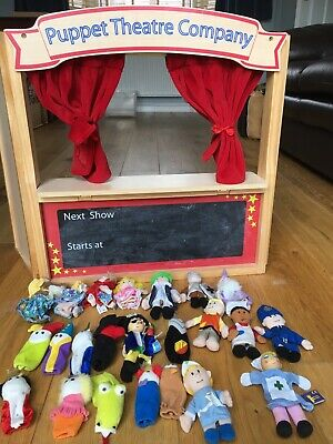 ELC Puppet Theatre, With 23 Puppets • 65£