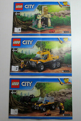 Lego City 60159 Instruction Manual Only - Used • 4.95£