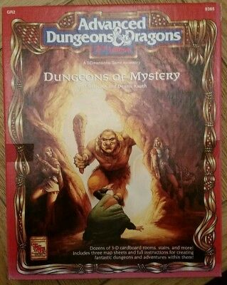Advanced Dungeons And Dragons 2nd Ed. Dungeons Of Mystery • 37.50£