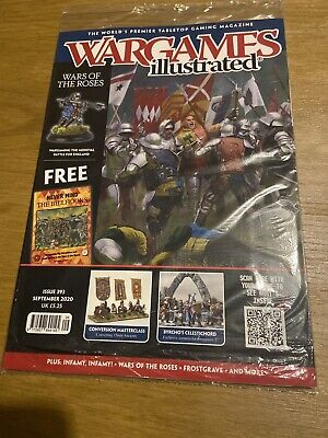 Wargames Illustrated Magazine Issue 393 Sept 2020 War Of The Roses Free Billhook • 8.59£