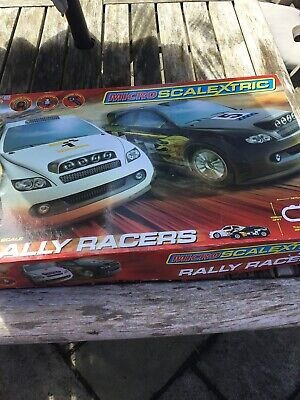 Micro Scalextric Rally Racers • 25£