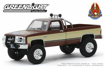 1982 GMC K-2500 Scale 1:64 By Greenlight The Fall Guy TV Series • 9.49£