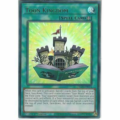 YuGiOh DLCS-EN074 Toon Kingdom | 1st Edition Ultra Rare | Trading Card Game TCG • 7.40£