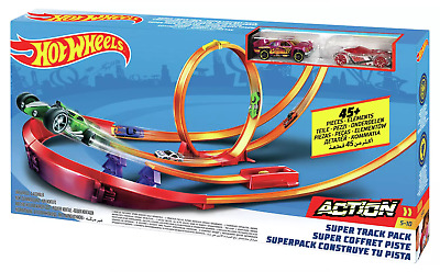 Hot Wheels Action Super Track Pack 2 Cars Playset  • 44.99£