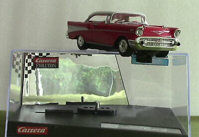 Like Scalextric: Carrera Chevrolet BelAir '57 +lights New/boxed  - See Close-ups • 36£