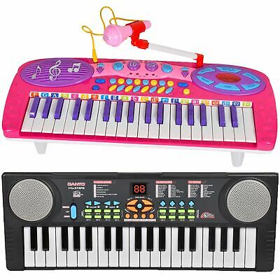 Kids Electronic Keyboard Piano Multi Function Organ Sound Music & Light Gift Set • 10.99£