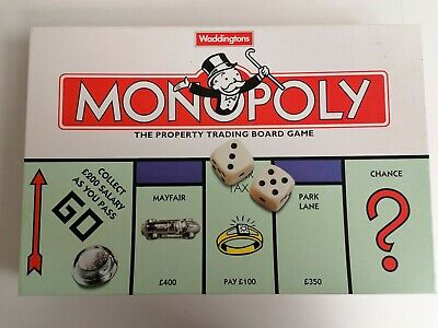 Waddingtons Monopoly Board Game Complete! • 11.99£