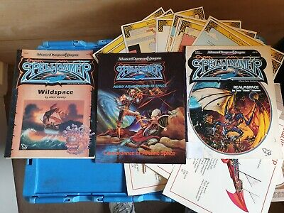 DUNGEONS & DRAGONS 1ST/2ND EDITONS Fantasy Spell Jammer • 2.20£
