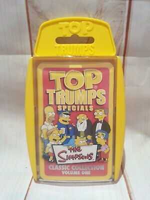 Top Trumps, The Simpsons Classic Collection Vol.1,Christmas Stocking Filler  • 3.95£