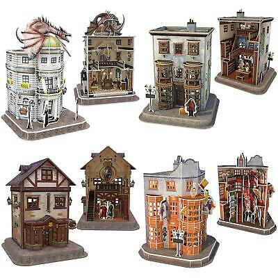 Harry Potter 3D Puzzles Jigsaw Officially Licensed Diagon Alley Buildings • 10.99£