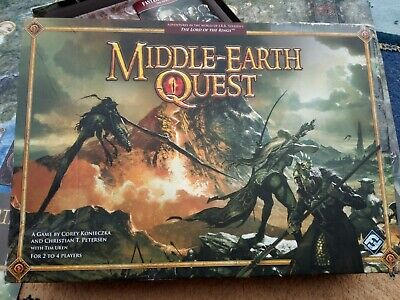 Middle Earth Quest LOTR Fantasy Flight Games Lord Of The Rings Game, UK Seller  • 17£