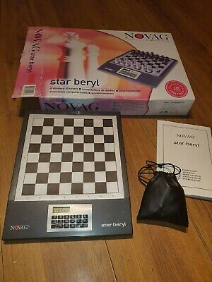 Novag Chess   Star Beryl Electronic Chess Game  • 30£