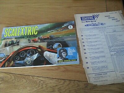Vintage Scalextric Catalogue Seventh Edition Good Condition  • 7.50£