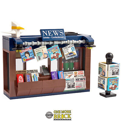 News Stand | Newspapers, Magazines Confectionery Newsagent | Made With Real LEGO • 26.99£