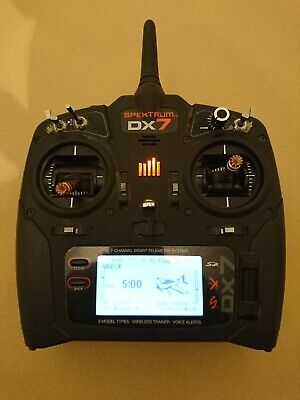 Spektrum Dx7 2.4GHz R/c Plane Helicopter Transmitter Very Good Condition  • 12.10£