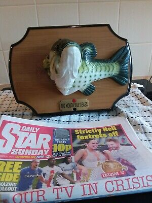 Vintage Big Mouth Billy Bass • 15£