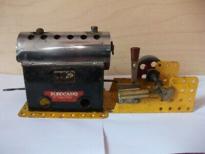 Meccano / Mamod Steam Engine. Working ; See Video • 55£