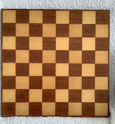 Wooden Chess Board (no Pieces) • 10.50£