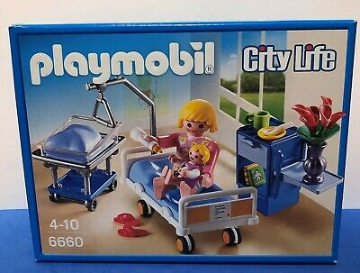 BRAND NEW Playmobil 6660 City Life Maternity Room • 14.99£