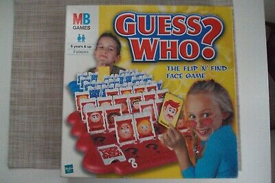 Guess Who? Board Game 2001 MB Games • 9.95£