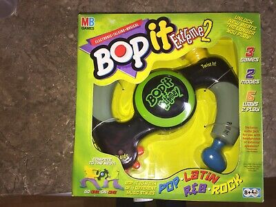 Bop It Extreme 2 Game - Hasbro / Mb -new • 40£