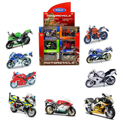 Motorcycle Motorbike Collection 1:18 Scale Die-cast Model Toy CHOOSE YOUR BIKE  • 9.49£