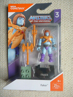 Mega Construx Pro Builders Masters Of The Universe Faker - New  • 17.99£