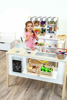 Small Foot Multifunctional Play Store Fresh Stores 11436 Supermarket Shop Toy • 199.99£