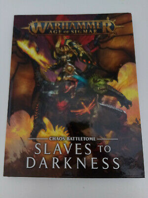 Slaves To Darkness Battletome : Chaos  Warhammer Age Of Sigmar • 0.99£