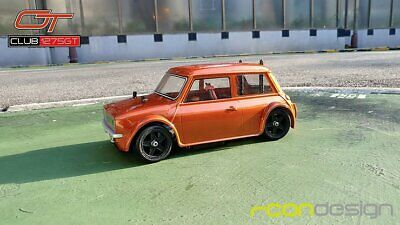 Rcon 1275GT Mini Clubman Clear Lexan Body For Tamiya M Chassis/ MTC(M01/M03/M05) • 25.99£