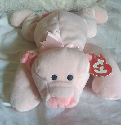PILLOW PALS Pig OINK Soft Cuddly Toy Piggy Plush Travel Gift Kids Children NEW • 19£
