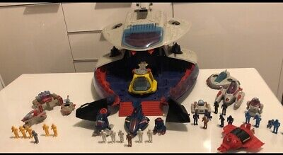 Vintage! Manta Force Command Space Ship Bluebird Toys With Vehicles, Figures BOX • 70£