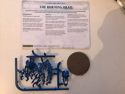 Warhammer Age Of Sigmar Malign Sorcery Endless Spells The Burning Head • 4.95£