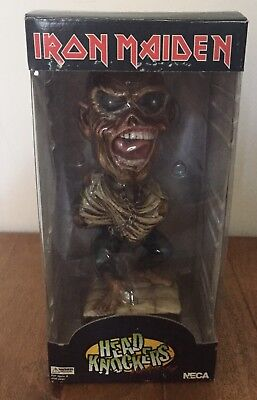 Neca Iron Maiden Piece Of Mind Eddie Head Knocker/bobblehead Rare • 89.95£