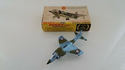 Dinky Toys Hawker Harrier Jet 722 First Edition Boxed • 124.99£