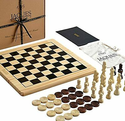 Chess Set With Board Inc. Draughts Pieces - A Chess And Checker • 39.90£
