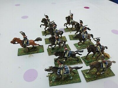 1/72 20MM PAINTED NAPOLEONIC FRENCH CURASSIERS Plastic 11figures • 7.10£