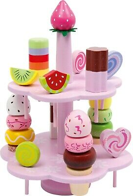 Small Foot Children's Role Play Food Pretend Shops Sweets & étagère Playset 3312 • 27.99£