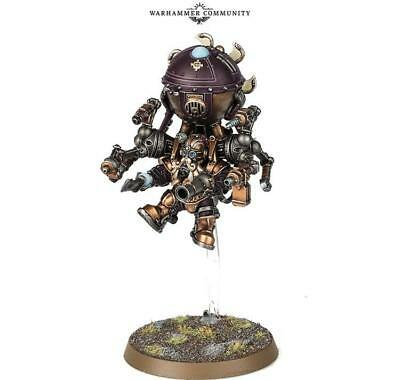 Warhammer Age Of Sigmar Kharadron Overlords Endrinmaster With Dirigible Suit  • 21.50£