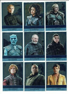 Game Of Thrones Inflexions Mirror Relationship Foil Chase Card Selection RM17-28 • 8.99£