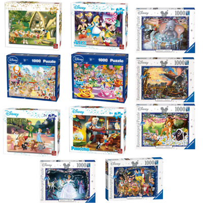 Disney 500 - 1000 Piece Jigsaw Puzzles Choice Of 6 Official Cartoon Licensed  • 9.99£
