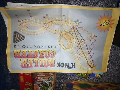 Knex Roller Coaster Set With Others • 35£