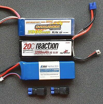 LiPo Batteries 3cell • 39£